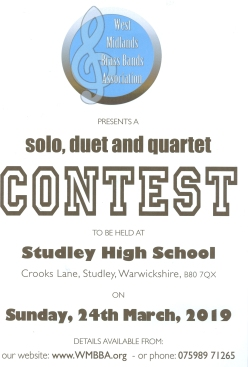 Solo Contest Poster 2019
